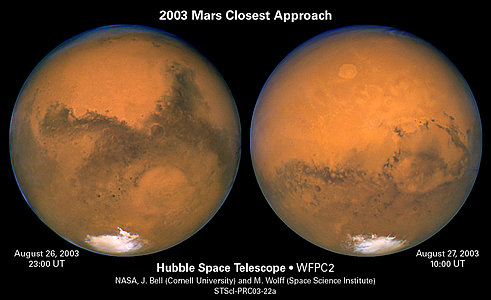 The Two Faces of Mars
