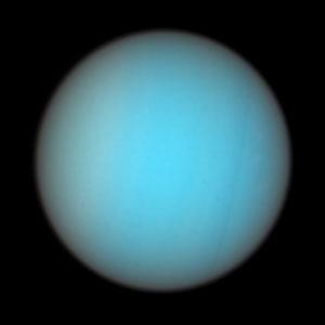 Uranus in Natural Colors