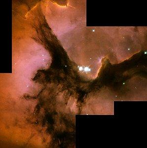 Full HST WFPC2 Image of Trifid Nebula