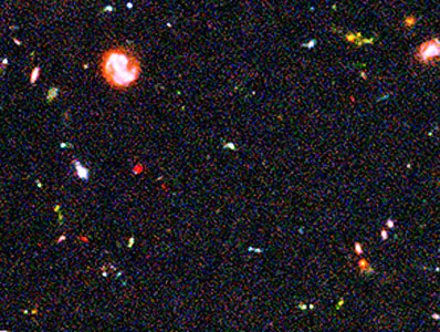 Hubble Ultra Deep Field Most-Distant Galaxy Candidates - Close-up 1