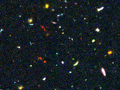 Hubble Ultra Deep Field Most-Distant Galaxy Candidates - Close-up 2