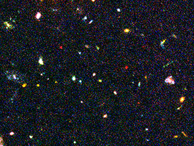 Hubble Ultra Deep Field Most-Distant Galaxy Candidates - Close-up 3