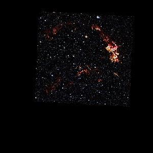 Hubble Space Telescope: Kepler's Supernova Remnant (visible-light data)