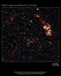 Hubble Images Kepler's Supernova Remnant (Hubble Heritage Photo)