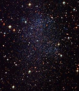 Hubble Images Sagittarius Dwarf Galaxy