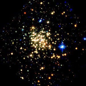 Arches Cluster: Hubble/NICMOS (1997)