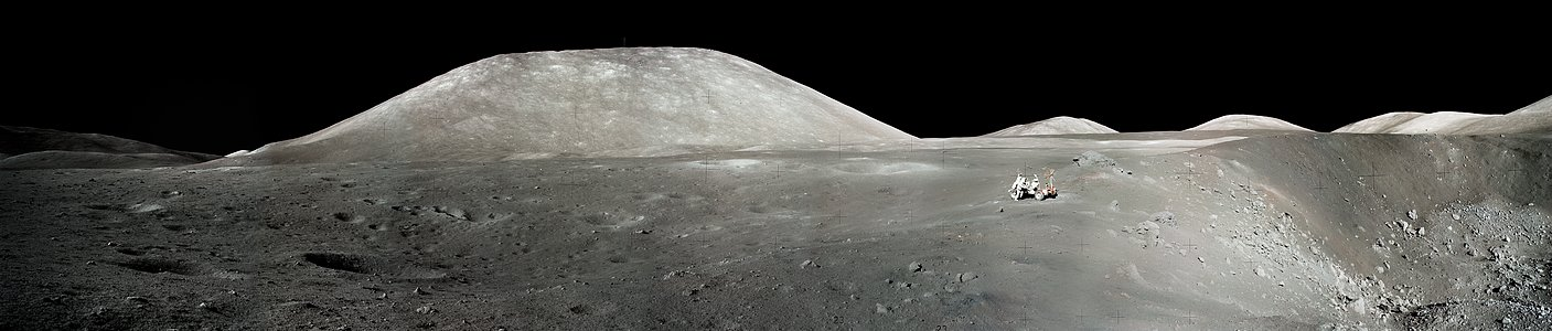 An Astronaut's Snapshot of the Moon