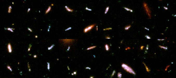 A Gallery of 'Tadpole Galaxies'