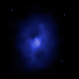 X-ray Image of Galaxy Cluster MS 0735