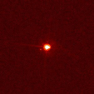 Hubble View of Eris and Dysnomia (Unannotated)
