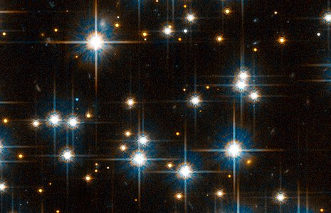 Small region of ACS field reveals faint white dwarfs