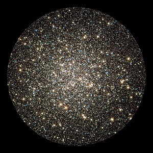 Hubble image of globular cluster M13
