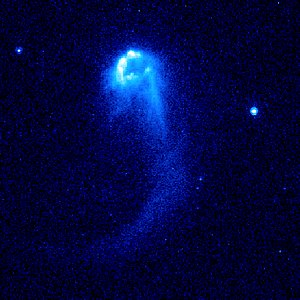 Hubble Image of Stellar Bow Shock (4 of 4)