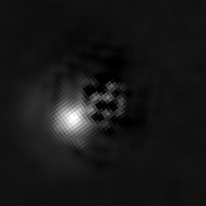 Brown dwarf 2M J044144 with companion (subtracted image)