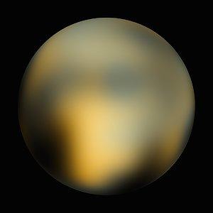 Pluto - 180° longitude