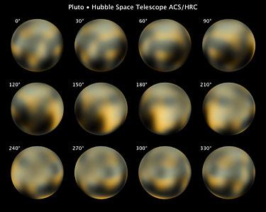 Hubble's full photomap of Pluto