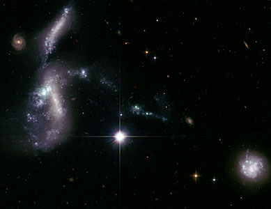 Hubble's view of Hickson Compact Group 31