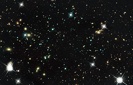 Galaxy Cluster Abell 520 (CFHT and HST)