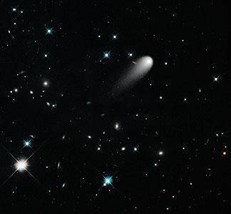 A Unique Hubble View of Comet ISON