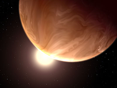 Hubble sees cloudy super-worlds with a chance for more clouds