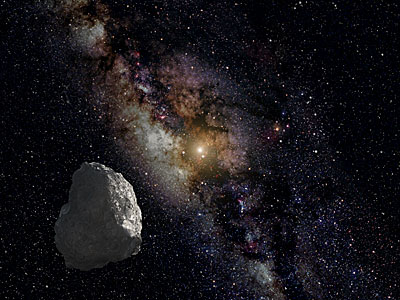 Artist's Impression of a Kuiper Belt Object