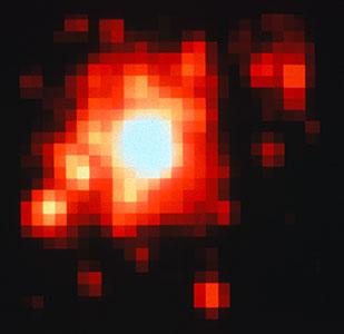 Star Cluster R136 - ESO 2.2m Telescope