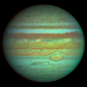 NASA/ESA Hubble Space Telescope Produces Clear colour Photo of Jupiter