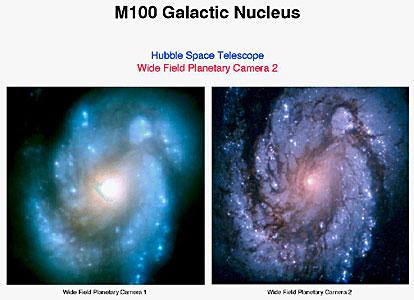 Spiral Galaxy M100