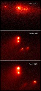 "Comet P/Shoemaker-Levy 9 ""Gang Of Four"