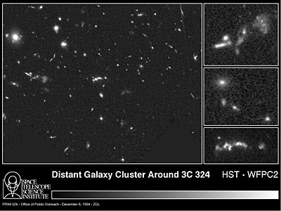 Distant Cluster of Galaxies