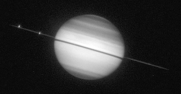 Saturn Ring-Plane Crossing