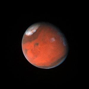 Mars in November 1996