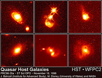 Quasars and Their Host Galaxies