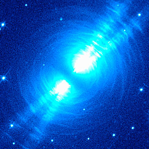 NICMOS Peers Into Heart of Dying Star