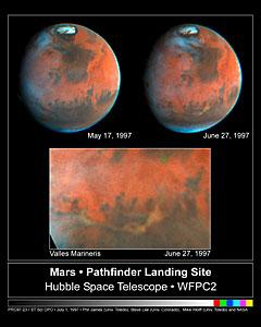 Mars Pathfinder Landing Site