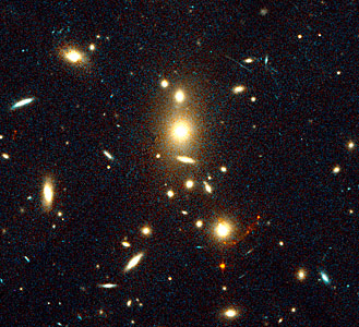 Gravitationally Lensed Image of Highest Redshift Galaxy