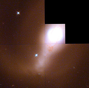 Galaxy NGC 4314 (Hubble WFPC2 Mosaic)
