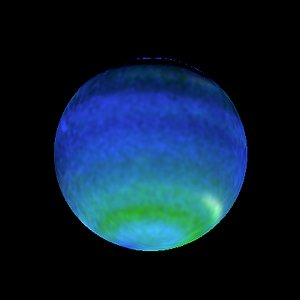 Opposite Hemispheres of Neptune