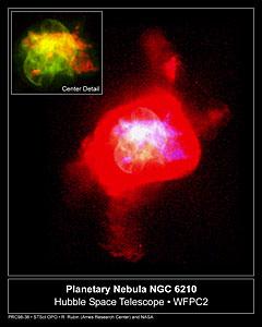 Planetary Nebula NGC 6210