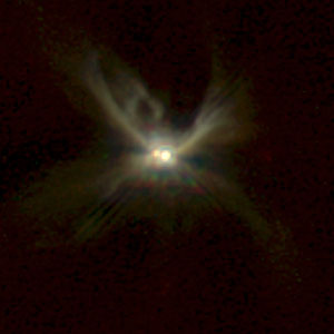 NICMOS Peers Through Dust to Reveal Young Stellar Disks. A View of CoKu Tau/1