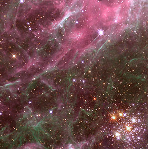 Multiple Generations of Stars in the Tarantula Nebula