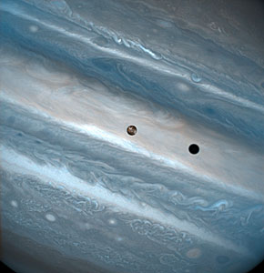 Io Transit of Jupiter