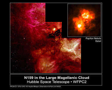 N159 in the Large Magellanic Cloud