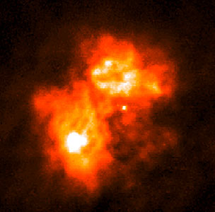 A Butterfly-Shaped 'Papillon Nebula' Yields Secrets of Massive Star Birth
