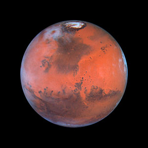 Mars at Opposition (the Acidalia Region)