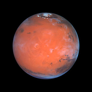 Mars at Opposition (the Tharsis Region)