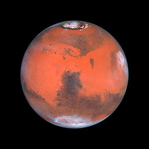 Mars at Opposition (the Syrtis Major Region)