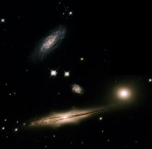 A Minuet of Galaxies