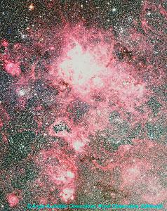 Doradus Region in the Large Magellanic Cloud