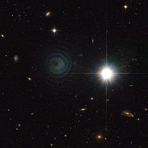 An extraordinary celestial spiral